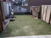 Artificial grass second hand 12mm