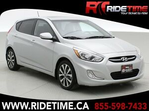 2015 Hyundai Accent GLS Hatchback - Sunroof, Alloy's, Heated Sea