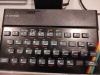 ZX Spectrum 48k with games