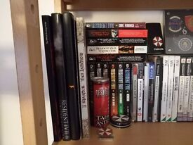 My resident evil collection