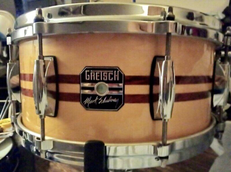 """Mark Schulman Artist Series Gretch 13"""" X 6"""" Snare Drum *Rare Find*"""