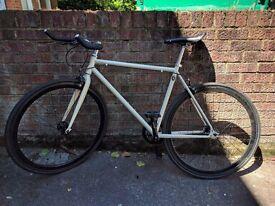 GOKU CYCLES Single speed commuter fixie road bike