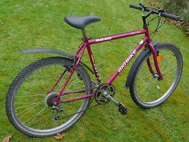 "Gents Mariner mountain bike, 20"" medium frame, 18 gears, 26"" wheels, discount available"