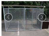 Dog run and kennel