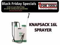 PROPLUS KNAPSACK SPRAYER 16 LITRE FREE GUIDE LANCE NOZZLE CHEMICAL WEED KILLER