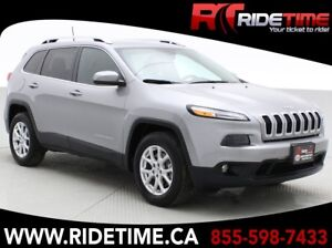 """2016 Jeep Cherokee North 4WD - 3.2L V6, 8.4"""" Uconnect w/ Backup"""
