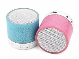Portable Mini Bluetooth Speaker USB LED