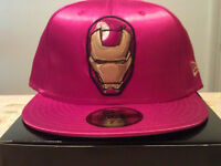 2008 MARVEL IRON MAN X NEW ERA 7 3/8 59 FIFTY CAP EU EXCLUSIVE (Snapback,Dsquared,Supreme, Nike)