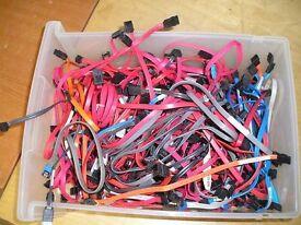 PC Hard drive Sata & Ata Cables
