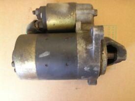 Yanmar L100 Diesel starter motor