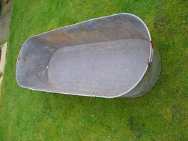 Galvanised Steel bath