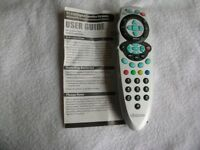 PROGRAMMABLE REMOTE CONTROL. USEABLE FOR OVER 300 TV SETS