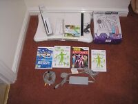 Wii bundle with games by nintendo