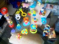 Collection of Baby Toys.