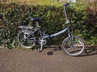 Raleigh Folding Bike Evo 7 SP