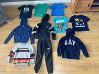 BOYS BUNDLE OF CLOTHES 6-7 YEARS - NIKE, NEXT, GAP, MINE-CRAFT, MARVEL