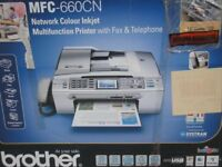 Multifunctional Copy scan Fax machine with Telephone