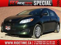 2011 Toyota Matrix FWD - Power Windows & Locks, Low KM's