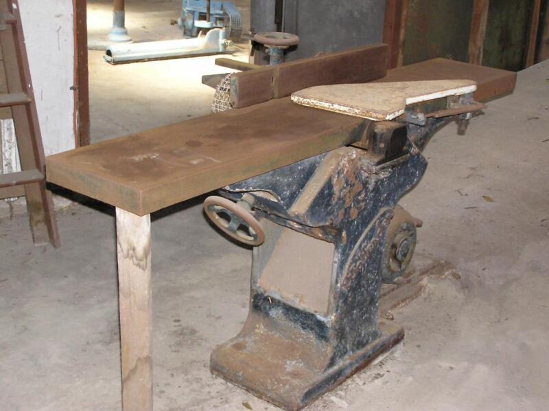 Woodworking Machinery - Wolfender Planer/Jointer