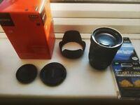 Sony E PZ G 18-105mm F4 Lens