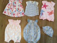 Summer Baby Girl Bundle 0-3 Months