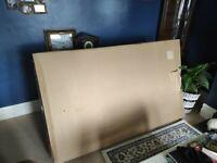 Made . Com Chou Click Clack Sofa Bed with Storage BRAND NEW Sherbet Blue