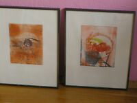 2 works signed, numbered and dated