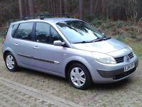 2005 Renault Scenic 1.6 Dynamique. New MOT (No Advisories) Unbelievable Specification, Great Value