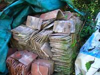 Bricks / tiles / ridge all sorts small amounts for clear out