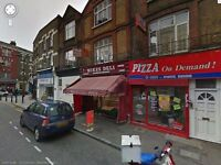 Lock up A3/A5 Take away/Restaurant to Let in Clapton