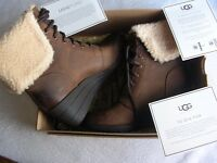 UGG LADYS FASHION BOOTS. NEW AND BOXED