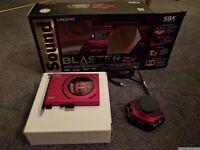 Creative Sound Blaster ZX - like new