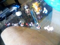 Wallace and Grommet Figures.