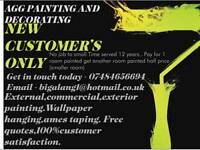 AGG Paint&Decorating !! 100%excellent customer feedback. Get in touch today for this deal!!