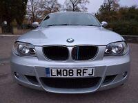 2008 Silver BMW 118i M sport 3dr Petrol