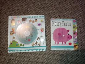 Nursery Rhymes and Noisy Farm book
