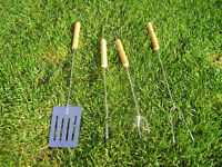 JOB LOT of 20 SETS OF 3 PIECE BBQ TOOLS