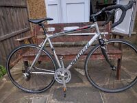 Specialized Allez Road Bike Aluminum Frame, Carbon Forks - 54cm - Good for a 6ft tall - Great Bike!
