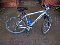 MTB Cycle/ Bike. Mint Condition with lock and cushioned seat