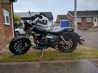 2017 Keeway Superlight 125cc for sale