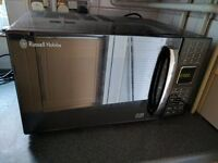 900W Microwave Oven & Grill, Russell Hobbs