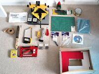 Logan Studio joiner and framing equipment bundle, excellent condition