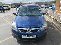 Vauxhall zafira life 1.6 petrol 7 seater ex council owned car