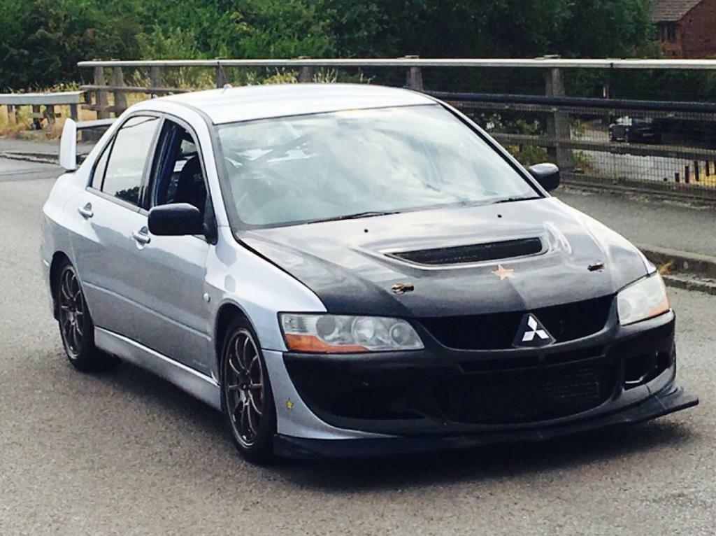2004 MITSUBISHI LANCER EVO MR FQ ONLY 40K MILES TRACK CAR 400BHP PLUS MUST  SEE