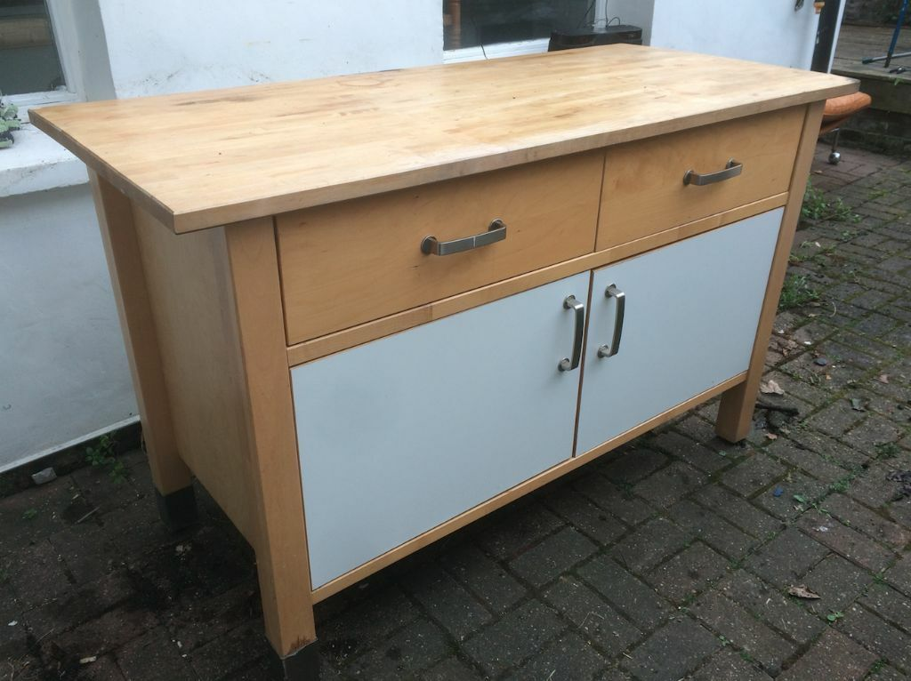 Ikea Varde   Freestanding Kitchen Unit And Worktop   Drawers / Cupboard