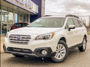 2016 Subaru Outback 3.6R with moonroof, power liftgate, back up
