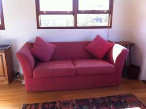 Moran 3-seater sofa bed - very good condition Byron Bay Byron Area Preview