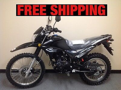2017 Other Makes Enduro HAWK 250CC ( Free shipping to your door)  BLACK dirt bike 250cc enduro dual sports fully street legal fast and powerful