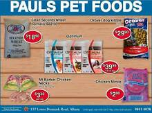 PET FOOD SALE - Pauls Pet Foods Robinson Albany Area Preview
