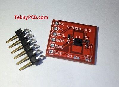 Si7021 Relative Humidity And Temperature Sensor Module For Arduino